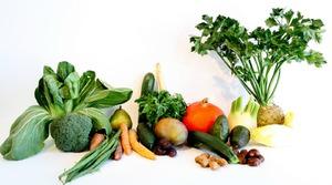 Овощи богатые витаминами А и Е, фолиевой кислотой и цинком