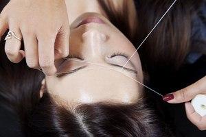 Способ удаления папиллом с применением нитки и хозяйственного мыла