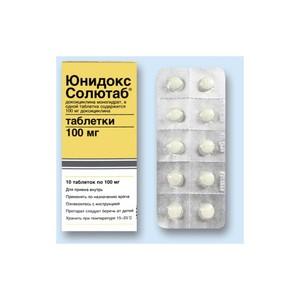 Отзывы о препарате юнидокс салютаб