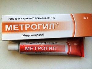 Отзывы гель метрогил при беременности