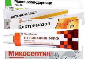 Противогрибковые препараты потребуются, чтобы избавиться от лишая.