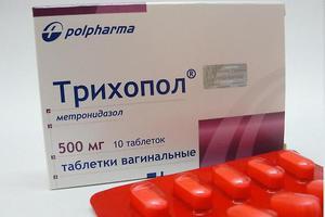 Лечение панкреатита трихополом